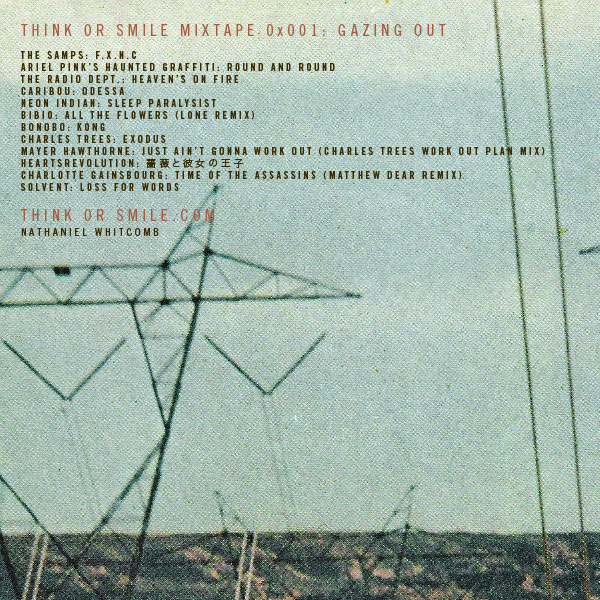 Think or Smile Mixtape 0x001: Gazing Out Back Cover
