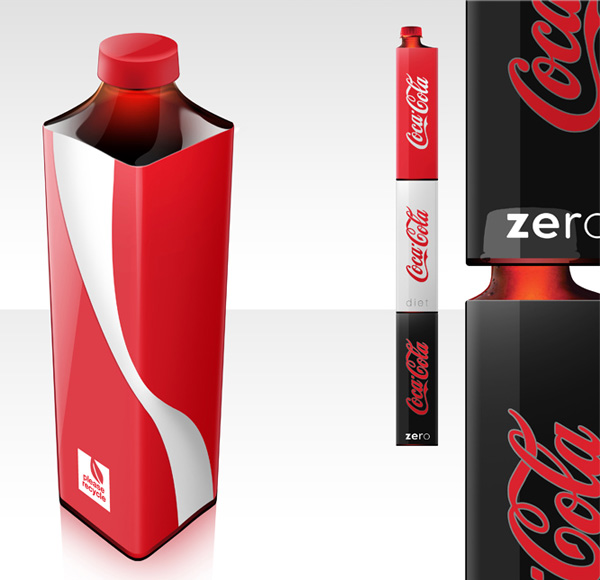 Coke Redesign stackable