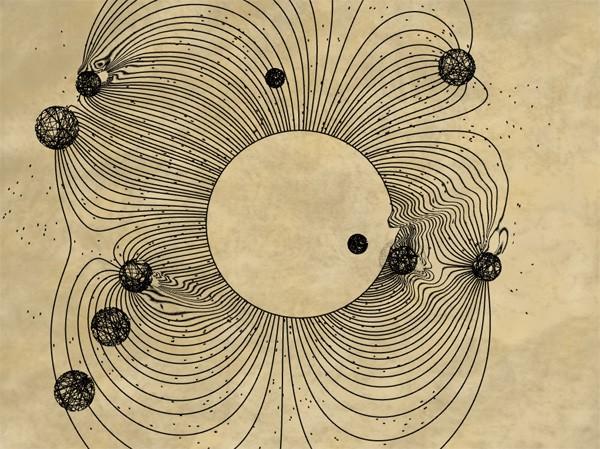 Cosmogramma Fieldlines