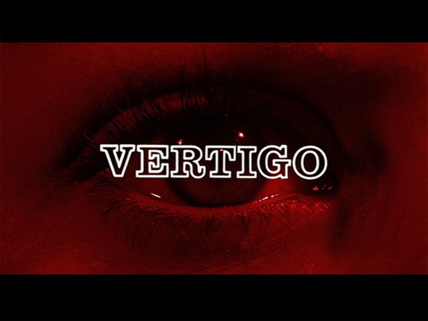Hitchcock Movie title stills - vertigo