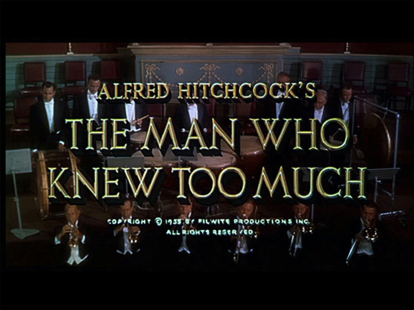Hitchcock Movie title stills - the man who knew too much