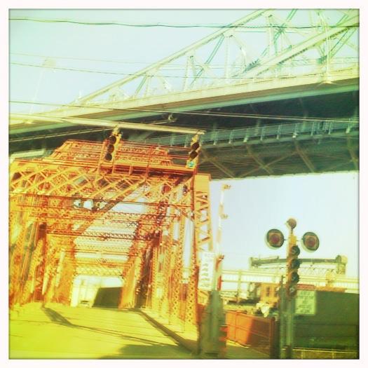 Cleveland Flats draw bridge