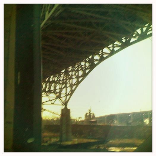 Cleveland Flats I-480 Bridge