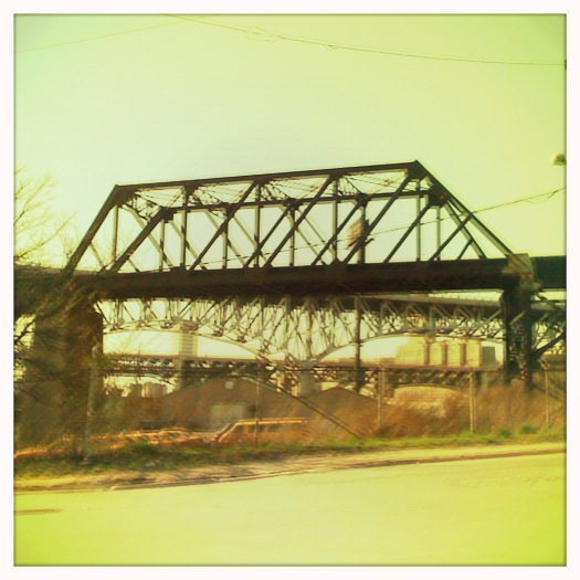 Cleveland Flats railway bridge