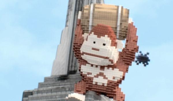 pixels 8-bit donkey kong