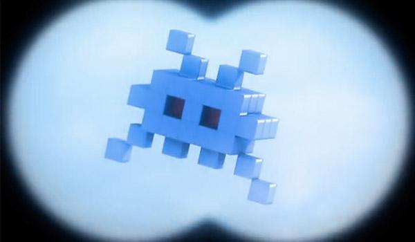 pixels 8-bit space invader
