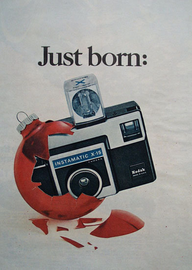 Kodak Instamatic X-15 1970 ad